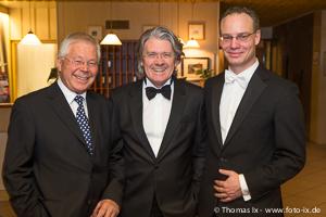 Hochkarätiges, gut gelauntes Referenten-Trio: Dr. Manfred Giensch, Prof. Dr. Norbert Meenen und Dr. Patrick Dissmann