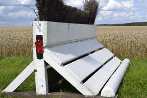 Das MIM Safe System kam in einer Hecke auf Gut Waitzrodt im CIC* ertsmals zum Einsatz